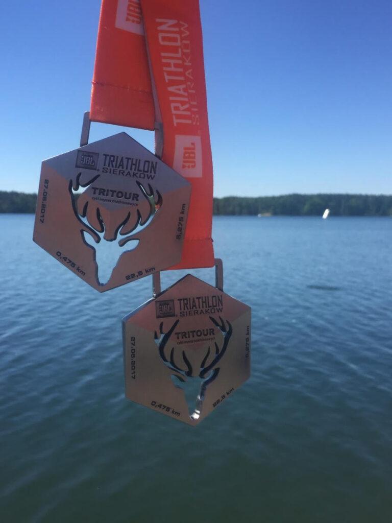 Medale triathlon Sieraków